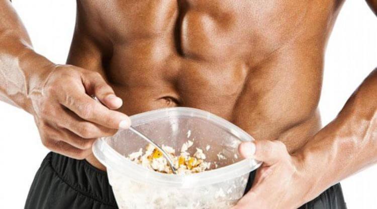 alimentação para musculação