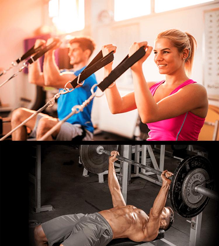 como conciliar Pilates e musculação